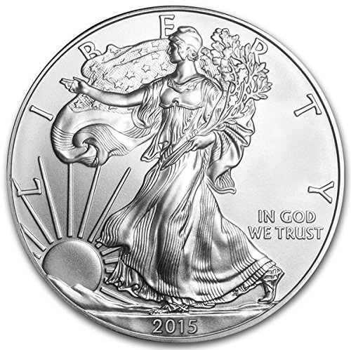 2015 American Eagle Silver Coin 1 oz 999 Fine Silver $1 Brilliant Uncirculated US Mint
