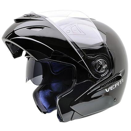NZI 150207G046 Verti B Casque de Moto, Noir, Taille : XXL