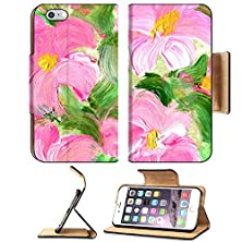 buy Apple Iphone 6 Plus Iphone 6S Plus Flip Pu Leather Wallet Case Abstract Textured Acrylic And Watercolor Hand Painted Background Impressionism Style Image 28800545 By Msd Customized Premium