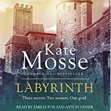 Labyrinth Audiobook by Kate Mosse Narrated by Emilia Fox, Anton Lesser