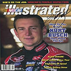Kurt Busch Autographed Signed NASCAR Illustrated Magazine by Hollywood Collectibles