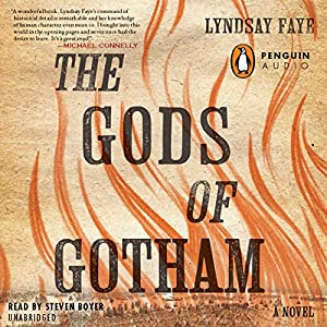 The Gods of Gotham Audiobook