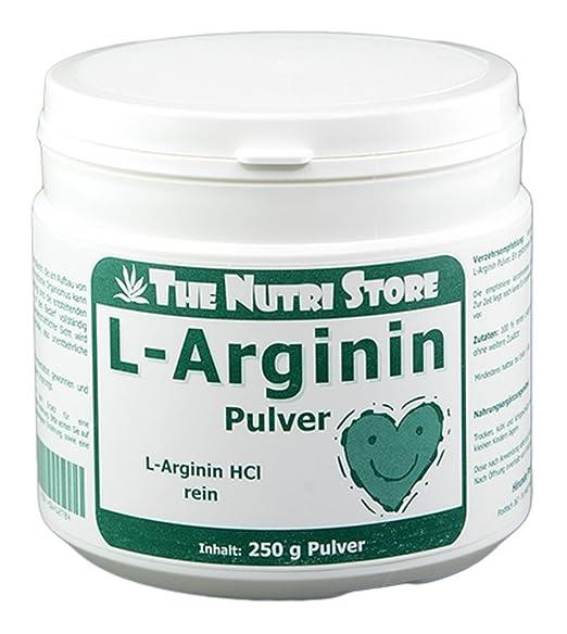 L-Arginin HCl 100 % rein Pulver 250 g