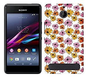 WOW Printed Designer Mobile Case Back Cover For Sony Xperia E1