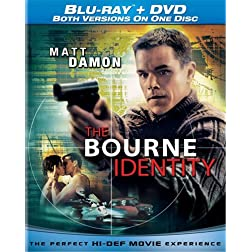 The Bourne Identity (Single-Disc Blu-ray/DVD Combo)