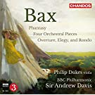 Bax: Four Orchestral Pieces [Sir Andrew Davies, Philip Dukes] [Chandos: CHAN 10829]