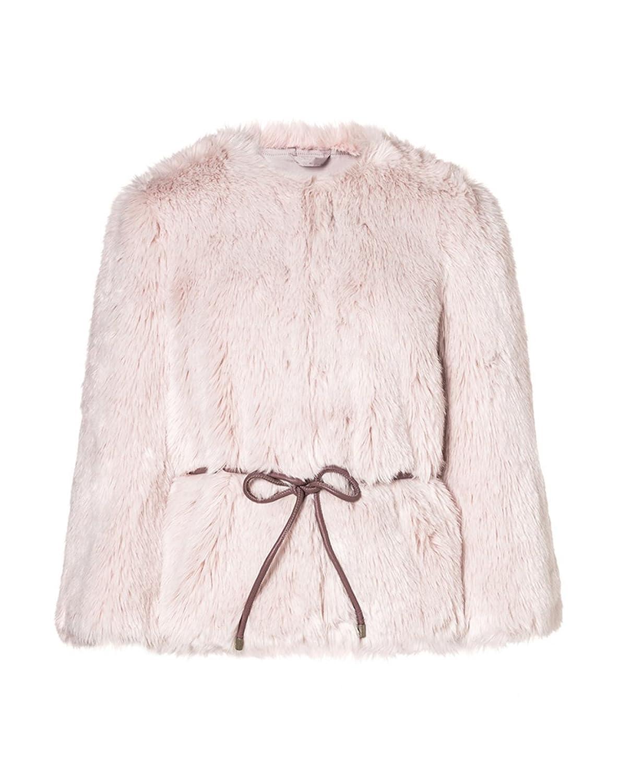 Amazon.co.jp: (ユナイテッドカラーズオブベネトン) UNITED COLORS OF BENETTON ピンクファージャケットW4S: 服&ファッション小物