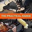 KKtick-Ofenhandschuhe-Silikon-Heat-Resistant-Grill-Zubehr-Kitchen-Tools-fr-Ihre-IndoorOutdoor-Bedrfnisse-Kochen-Widerstandshochtemperatur-Wrmedmmung-Superb-Grip-Oven-mitts-1-PaarSchwarz