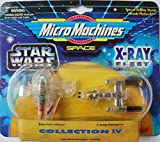 Star wars Micro Machines X-Ray Fleet Slave 1,Y-Wing