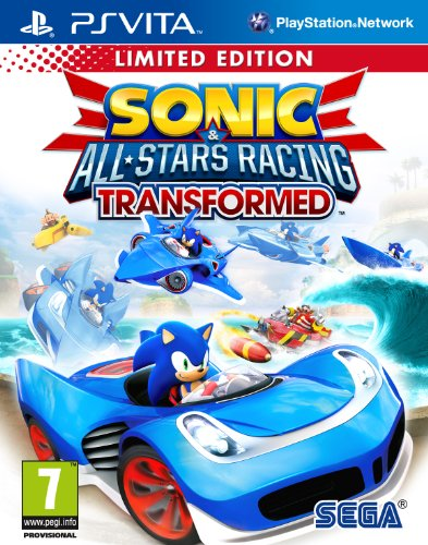 Sonic & All Stars Racing Transformed Limited Edition (PS Vita)
