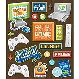 K&Company Video Games Sticker Medley