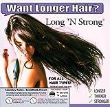 Want Longer Hair? Want Stronger Hair? Grow Hair Fast! Buy Long N Strong® Treatment Lotion - Longer, Thicker Hair! - Split End Repair - Split end treatment!