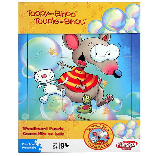Cheap Fun Toopy and Binoo Woodboard Puzzle [9 pieces] (B003N0ZM66)