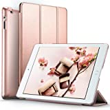 ESR iPad 2 3 4 Case, Smart Case Cover [Synthetic Leather] Translucent Frosted Back Magnetic Cover with Auto Sleep/Wake Function [Light Weight] (Rose Gold) (Color: rose gold, Tamaño: 9.7 Inch)