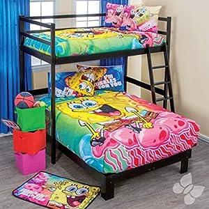 Spongebob Adventures Reversible Lightweight Comforter