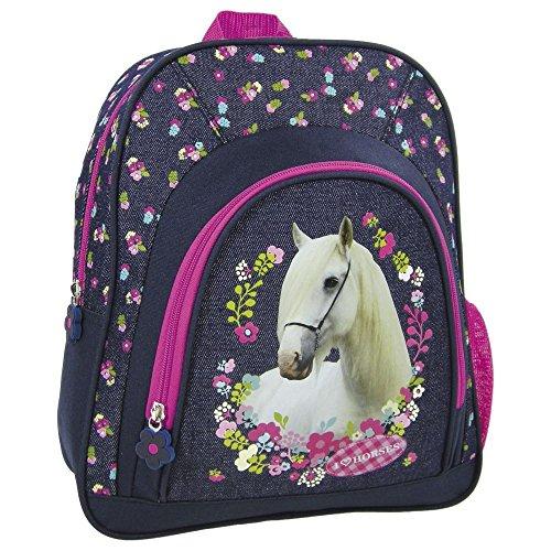 Cavalli Horse bambini zaino per la scuola (30x 24x 12cm)