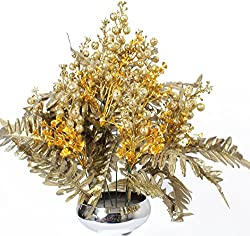 Home decor artificial flowers with pot best quality realistic natural look faux flower arrangement for home decoration and gifts