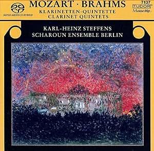 モーツァルト:クラリネット五重奏曲 イ長調 K.581/ブラームス:クラリネット五重奏曲 ロ短調 Op.115