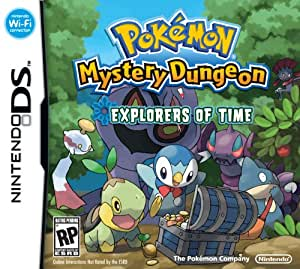 Pokémon Mystery Dungeon:  Explorers of Time - Nintendo DS