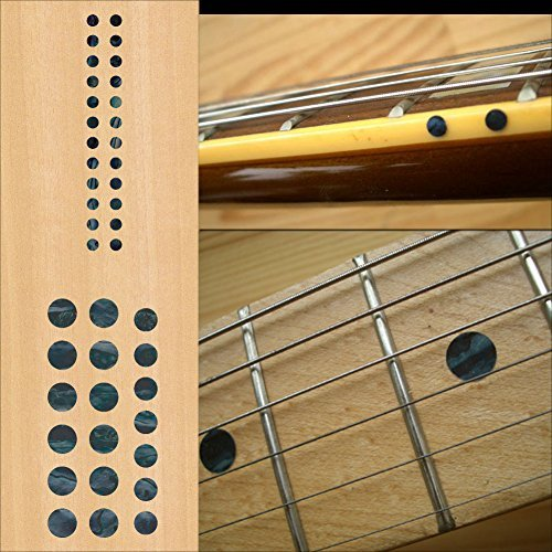 Fretboard Markers Inlay Sticker Decals for Guitar and Bass - Custom Dots Set-BP (Fretboard Side Marker compare prices)