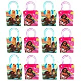 Moana and Maui Epic Voyages12 Authentic Licensed Party Favor Reusable Small Goodie Gift Bags 6