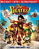 Cover art for  The Pirates! Band of Misfits (Two-Disc Blu-ray/DVD Combo)