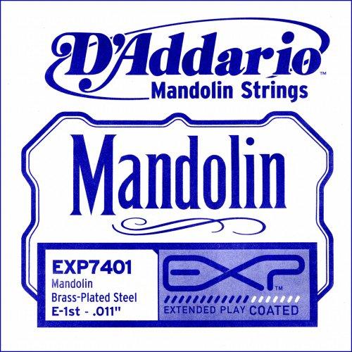 D'Addario Exp7401 Exp Mandolin Single String, First String, .011