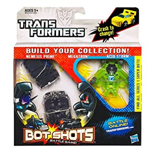 Transformers bot shots battle game decepticons for Shot bot lighting