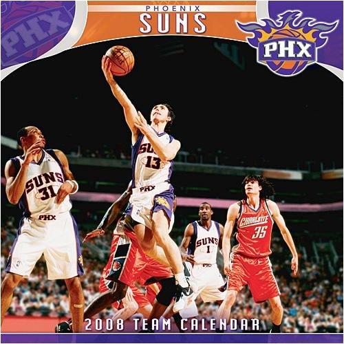 NBA Phoenix Suns Wall - 2008 Calendar - Buy NBA Phoenix Suns Wall - 2008 Calendar - Purchase NBA Phoenix Suns Wall - 2008 Calendar (Calendars, Office Products, Categories, Office & School Supplies, Calendars Planners & Personal Organizers, Wall Calendars)