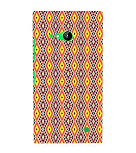 EPICCASE trendy diamonds Mobile Back Case Cover For Nokia Lumia 730 (Designer Case)