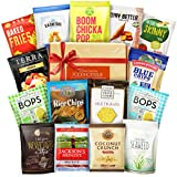 Gluten Free Snacks Healthy Gift Box Premium Care Package( Natural Organic Non GMO Vegan) School Lunch Bundle 15 ct