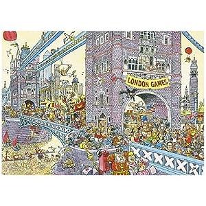 Wasgij Mystery 8 Olympics 1000 Piece Jigsaw Puzzle