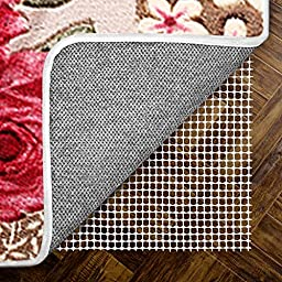 High Quality Anti-Slip Rug Pad 2\' x 8\' for Hard Floors, Easy Trimmed - Protect Your Rugs & Floors