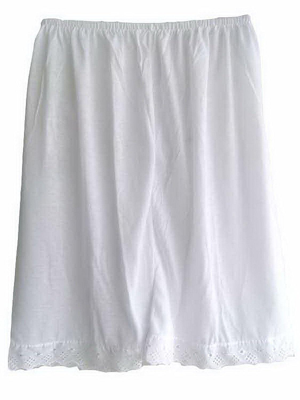 Damen Cotton Halb Slips Neu UPPCWH White Half Slips Women Pettipants Lace jetzt bestellen