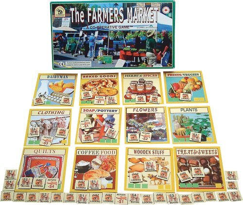 Family Pastimes The Farmers Market - A Co-operative Game