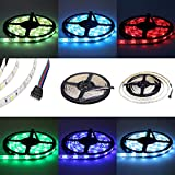 Dreamy Lighting 5050 SMD 16.4Ft 5Meter 300LEDs RGB + WHITE RGBW Cool White Mixed Color Flexible Waterproof Strip Lighting