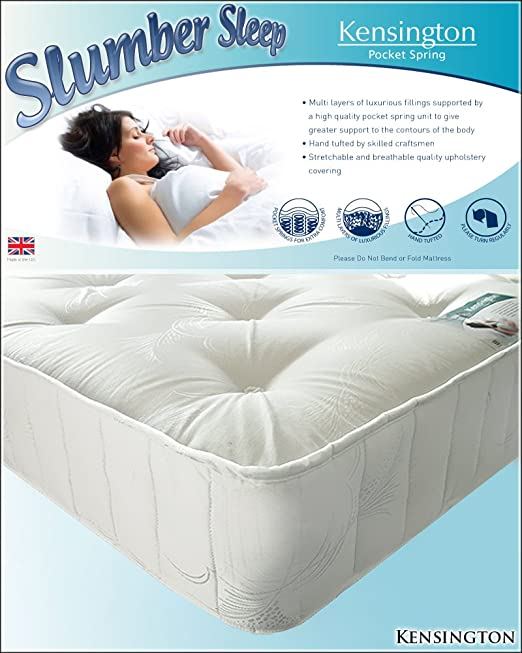 Kensington 1200 Pocket Sprung Mattress 5FT King 150cm