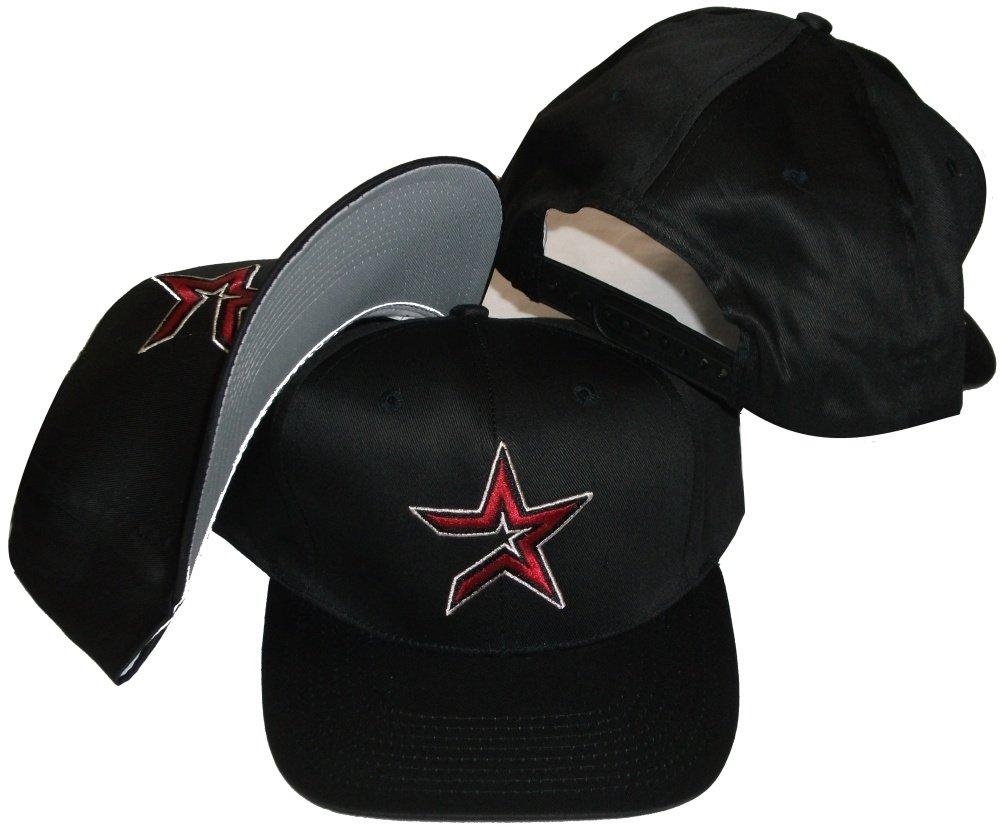 Astros Retro  Star Houston Plastic Red Vintage Snapback