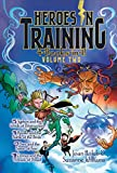 img - for Heroes in Training 4-Books-in-1! Volume Two: Typhon and the Winds of Destruction; Apollo and the Battle of the Birds; Ares and the Spear of Fear; Cronus and the Threads of Dread book / textbook / text book