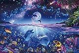 2016ピース 光るジグソーパズル パズルの超達人 ラッセン 星に願いを ベリースモールピース(50x75cm)