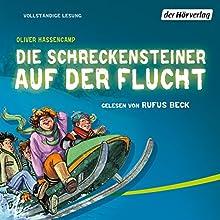 Die Schreckensteiner auf der Flucht (Burg Schreckenstein 4) Hörbuch von Oliver Hassencamp Gesprochen von: Rufus Beck