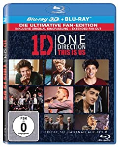 One Direction: This is us (3D + 2D Version) [3D Blu-ray]
