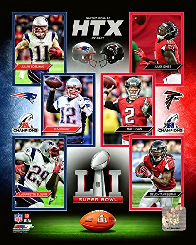 Super Bowl 51 NFL Patriots Falcons