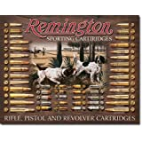"Remington Bullet Board Tin Sign 12.5"" X 16"" , 16x12"