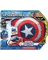 Hasbro - Capitan America, Scudo Elettronico Lancia Dardi