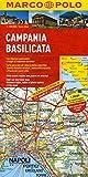 MARCO POLO Karte Kampanien, Basilicata (MARCO POLO Karte 1:200000)