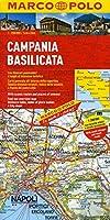 Italy - Campania Basilicata Marco Polo Map (Marco Polo Maps (Multilingual))