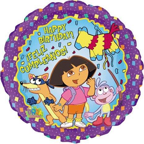 "Dora Balloon 18"" (3 Balloons)"