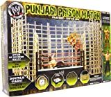WWE Wrestling Ring Punjabi Prison Match Playset with Batista and The Great Khali