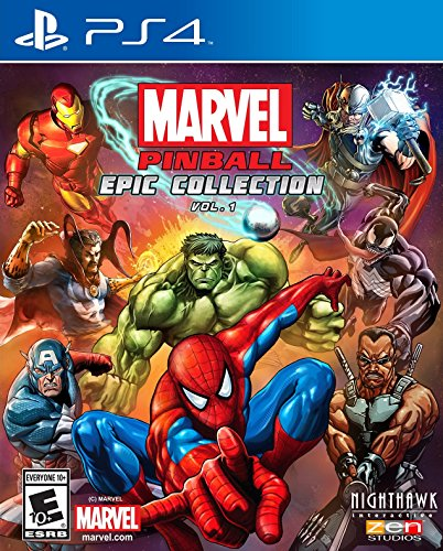 Marvel Pinball: Epic Collection Vol. 1 - PlayStation 4 (Marvel Mimic compare prices)